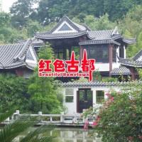 广东古建庭院施工 园林工程 中式庭院工程 仿古建筑庭院施工