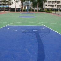 利达供应篮球场材料、网球场材料施工、