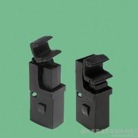 尼龙门锁扣 手动塑料门扣 弹簧 通用开关 安全DL-5 黑色
