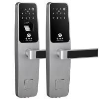 豪力士密码锁 家用木门铁门密码锁防盗门锁 智能锁手机感应电子