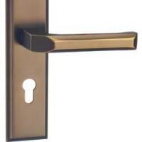 2015新款锁具 特价销售 厂家批发室内门锁  锌合金欧式系列执手门锁(黑咖啡)机械性能 弹子插芯门锁